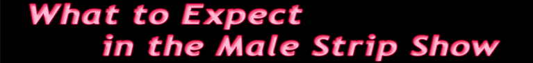 What to Expect (Male)